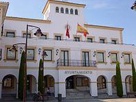 Ayuntamiento en la localidad de San Sebastián de los Reyes